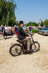 Columbia Model 38 steam motorcycle (The Adventurous Eye) Tags: classic car festival model meeting columbia steam motorcycle oldtimer 38 roper 2016 poppe slavkov