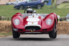 Graham Meyer, 1958 Lister Jaguar (Neil M Cross) Tags: