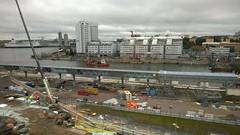 Vrtathamnen (skumroffe) Tags: port harbor pier construction sweden stockholm harbour baustelle cruiseship bygge pir hamn vrtahamnen byggarbetsplats siljaterminalen vrtan kryssningsfartyg vrtapiren vrtaterminalen