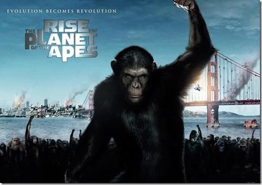 猩球崛起之黑猩猩王凱撒
