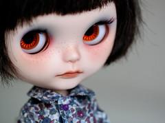 Hola Choc (Aya_27) Tags: hair outfit cut custom moshi choc blythedoll simplychocolate holagominola holachoc