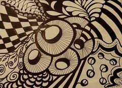 Doodle Art (cr43ew) Tags: art markerart inkart scribbleart zenart doodleart blackandwhiteart artofzen penart etsyteamcolumbus etsycolumbusteam