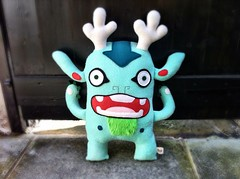Mint Green Gordy (Creaturekebab) Tags: cute art monster giant toy toys funny plush kawaii plushie characters colourful fleece creature whimsical collectable creaturekebab