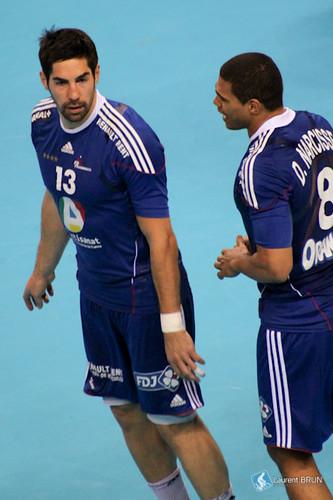 Daniel Narcisse et Nikola Karabatic