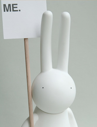 Mr clement - Petit Lapin Museum 2012 'PLEASE FORGET ME.'