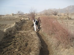 Canal Repairs and Cleaning, Gorbat Watershed (The Global Partnership for Afghanistan (Staff)) Tags: march canal watershed 2012 wardak 40074 sayedabad
