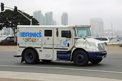 Brinks (So Cal Metro) Tags: money sandiego transport international currency brinks armoredcar navistar armoredtruck armoredtransport