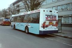 GVB 416 feliciteert.... (GVB813) Tags: bus volvo ajax autobus gvb muiderpoort insulindeweg duvedec reclamebus gvbbus flevoferries