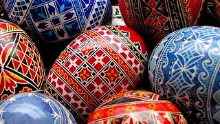 festett tojások / painted eggs