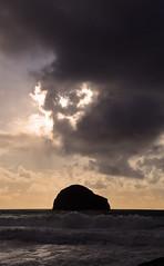 gull rock 2 (tkimages2011) Tags: sunset vertical landscape island cornwall gull trebarwith trebarwithstrand gullrock