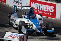 2012Apr17-IndyCar-389 (Gerry Calub) Tags: longbeach races indycar takumasato toyotagrandprixoflongbeach ajfoytenterprises mikeconway racingseries rahallettermanlaniganracing