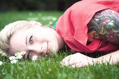 Janina (ifeatme) Tags: summer portrait beauty spring nikon bokeh outdoor warmth shooting fx 50mm18 softtones bokehlicious d700 nikond700
