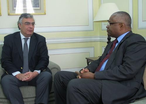 Visita Vice-Presidente MPD à Sede Nacional