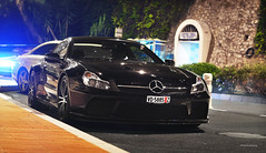 Black Star (Willem Rodenburg) Tags: life black night 50mm mercedes benz nikon shot bs montecarlo monaco diamond sl mc mercedesbenz series nightlife exclusive supercar amg sl65 willem v12 sl65amg biturbo d90 cs5 blackseries hypercar rodenburg