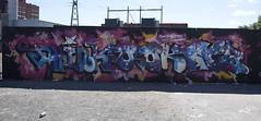 "IMG_1405 (Helsinki street art office Supafly) Tags: street urban streetart color art wall suomi graffiti helsinki colorful spray urbanart spraypaint graff legal hel kiva ""street graffitiwall art"" katutaide supafly"