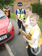 Day 176 - West Midlands Police - Working with youngsters to reduce inconsiderate parking (West Midlands Police) Tags: road school west pc child parking police safety illegal junior primary midlands roadsafety inconsiderate pcso westmidlandspolice motorists