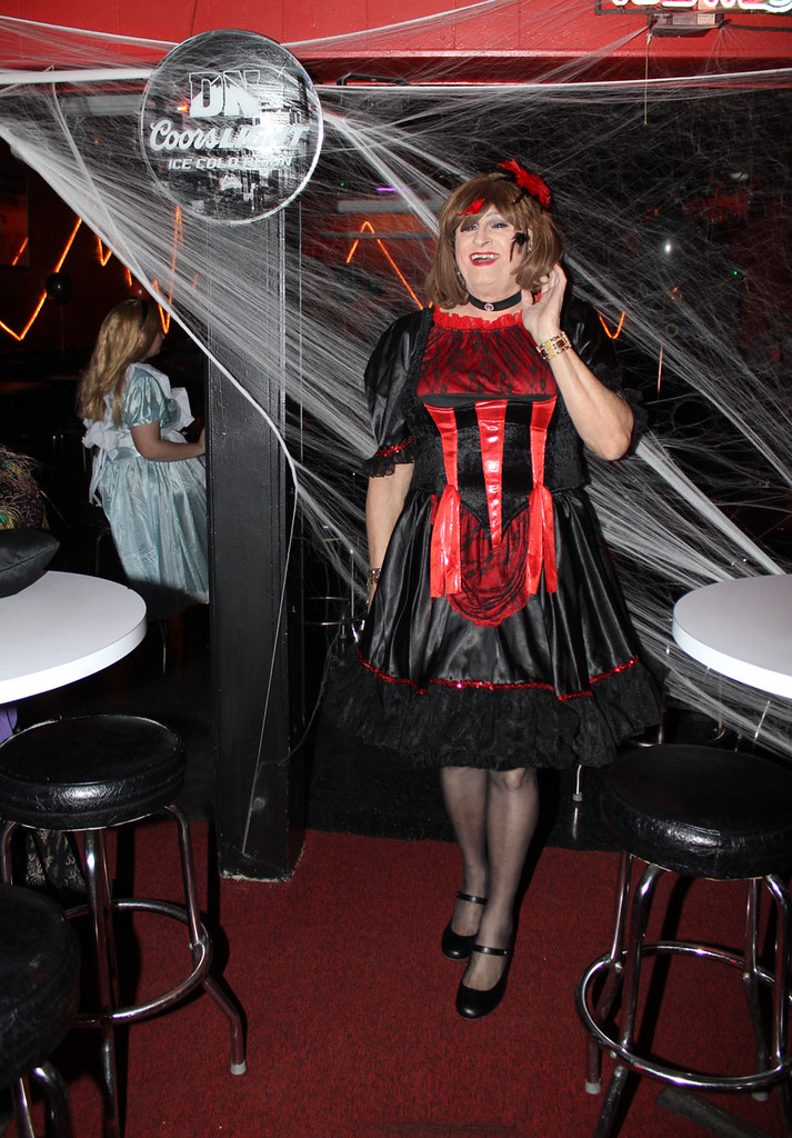 Crossdress travesti halloween travesti