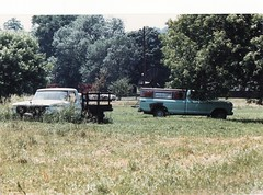 OLD FORD PICKUPS IN 1988 (richie 59) Tags: trees usa ford abandoned film overgrown rural america truck 35mm outside us spring unitedstates country 1988 pickup pickuptruck faded 35mmfilm vehicle trucks newyorkstate oldpictures sideview oldtruck 1980s oldpicture fords automobiles pickuptrucks nystate rustytruck hudsonvalley fomoco fordtrucks bluetruck rosendale rosendaleny 2door june1988 motorvehicles fadedpaint oldtrucks ulstercounty rustyoldtruck twodoor fordpickuptruck oldfordtruck oldfords midhudsonvalley fordmotorcompany rustyoldtrucks rustytrucks ulstercountyny 1960struck ustrucks oldfordtrucks oldrustytruck americantrucks junktrucks oldpickuptrucks abandonedtrucks fordpickuptrucks picturescan rustyford oldrustytrucks americanpickuptruck rustyfordtrucks richie59 june191988 1970struck townofrosendale townofrosendaleny old35mmpictures