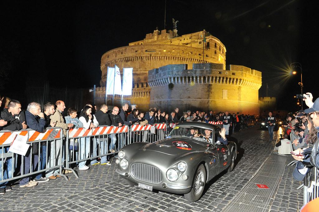 "Fiat partecipate at the  ""Mille Miglia"""
