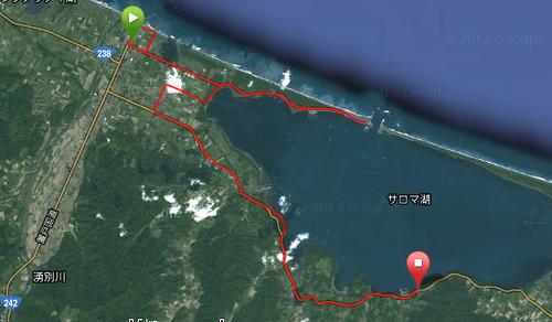 サロマ湖100kmウルトラマラソン〜54kmまで