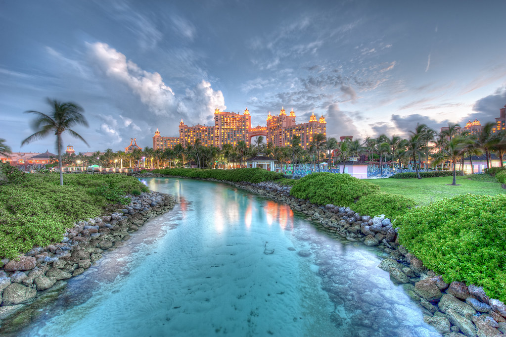 The Atlantis Resort and Casino.