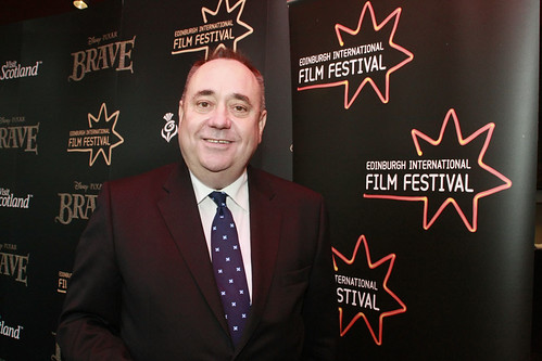 First Minister Alex Salmond at the European premiere of Brave at the Festival Theatre