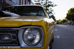 Old yellow Dodge (pwilliamson222) Tags: cars car yellow canon dodge headlight 1755