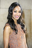 Zoe Saldana Paris Fashion Week Fall / Winter 2013 - Armani Couture - Celebrity Arrivals Paris, France