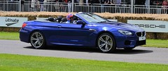 BMW M6 Convertable - Tiff Needell (h0us3y) Tags: sports car festival speed super f1 hyper goodwood 2012 of