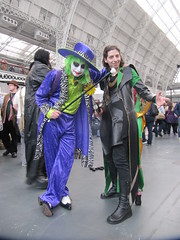 IMG_7181 (the_gonz) Tags: costumes sexy london film dc costume cool comic geek cosplay clown makeup convention batman joker gotham facepaint oc villain con gothamcity londonfilmandcomiccon thejoker lfcc