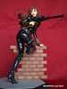 BLACK WIDOW Covert Ops Ver. 011 (mixnuts club) Tags: girl statue fetish comics dc gun bondage figure spy heroine blackwidow spygirl secretagent rubbersuits
