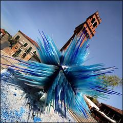 IMG_2556 murano glass sculpture, venice (lendownes) Tags: venice sculpture colour glass photo image campanile photograph murano glassblower lendownes