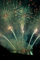 Celebrating 100 years with class (JoLoLog) Tags: canada fireworks joe alberta calgarystampede fireworksshow mccalllakegolfcourse canonxsi northeastcalgary calgarystampedecelebrates100years