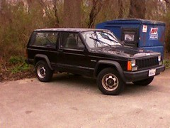 Front of the Jeep (TABonifacio) Tags: se jeep cherokee 1995 2012 xj