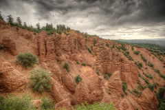 The Devil's Kitchen (lilcapn) Tags: red kitchen rock hiking sony devils payson thunderstorms nebo a850 1635mmza