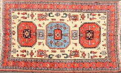 5. Hand Knotted Oriental Rug, Contemporary