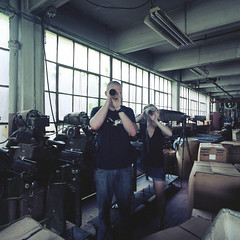 (.tom troutman.) Tags: portrait abandoned 120 6x6 film philadelphia mediumformat industrial kodak pennsylvania decay pa bronica philly sq wildeyarn