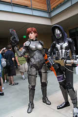 IMG_3228 (Naturday) Tags: tali cosplay mass effect shepard 2012 sdcc bioware