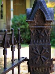 iron ornaments (ariel is . . .) Tags: old fence virginia iron details 19thcentury explore lynchburg va ornate intricate tabbslaughterdiggshouse