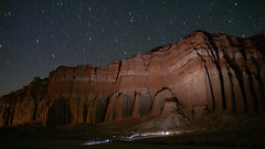 Red Rock Canyon (in the dark) (CodySLR) Tags: redrockcanyon california longexposure sky night clouds canon stars landscape desert adventure mojave codysmith codyslr