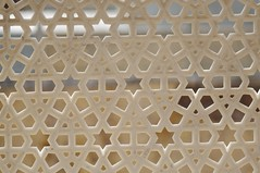 Jali, Carved Stone Screen, Jaipur, India (PCV Dave) Tags: india david star triangle geometry royal hexagon hindu hinduism jaipur pentagon lattice rajasthan jali