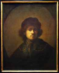 Self-Portrait as a young man - Rembrandt 1639 - Walker Art Museum -Liverpool - Northwest England  (50) (Bruce Aleksander & Dennis Milam) Tags: uk england liverpool rembrandt walkerartmuseum 1639 northwestengland selfportraitasayoungman