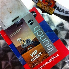 My work lanyard #MSL #NASASocial #NASATweetup @MarsCuriosity