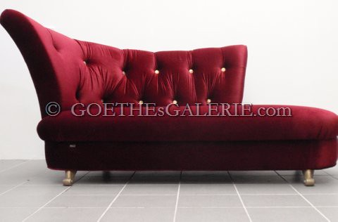 ... Recamiere Sofa Neuwertig Bretz Möbel Goethes Galerie1 S Rot Monster  Design Bordeaux Sofa ...