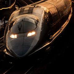 JR Shinkansen Series 500 - 500 (Shibazo) Tags: railroad train railway super jr series express 500  shinkansen  500
