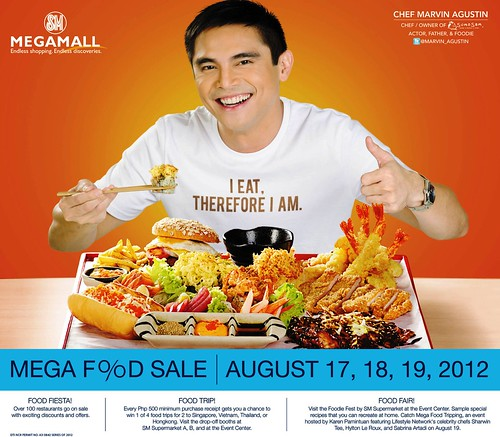 MARVIN AGUSTIN FOR MEGA FOOD SALE