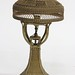 125. Antique Wicker Table Lamp