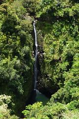 Puohokamoa Falls (kozyndan) Tags: hawaii paradise maui hanahighway