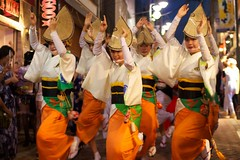 120825高円寺阿波踊り21 (midorisyu) Tags: summer festival japan tokyo nikon f14 sigma matsuri awaodori bonodori koenji 30mm 高円寺 祭 d40x 阿波踊り夏