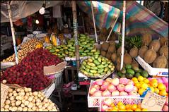 Fruit Stand (benchorizo) Tags: nikon philippines papaya mango durian rambutan roxascity d90 lanzones benchorizo